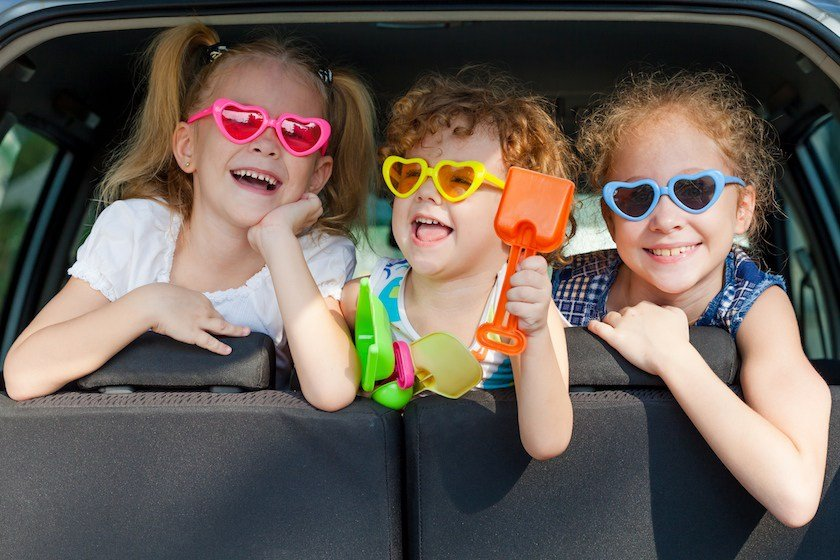 Top tips for keeping the kids entertained on a holiday journey