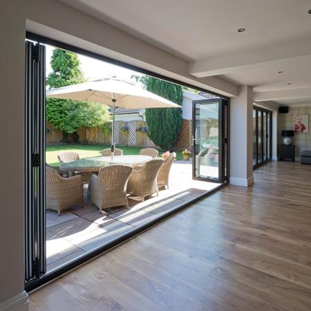 image of bi-fold doors