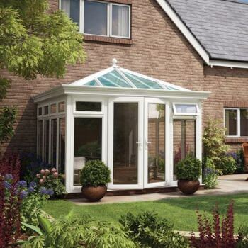 """We never thought we'd be able to use our conservatory all year round!"""